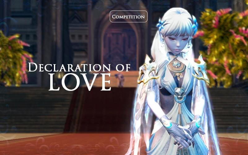 Declaration of Love!
